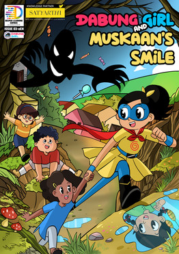 New Comic Book Alert! 'Dabung Girl and Muskaan's Smile' Launched!