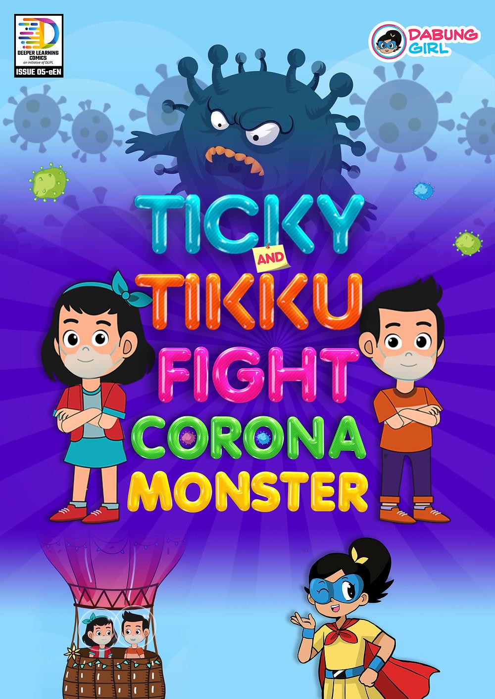Ticky Tikku Fight Corona Monster
