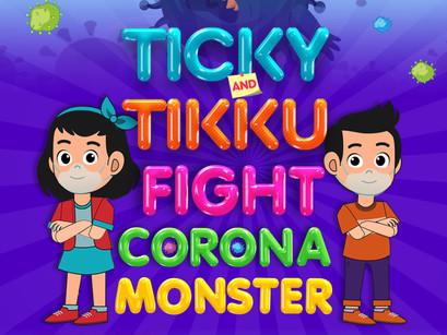 New Comic Book Alert! 'Ticky Tikku Fight Corona Monster' Launched!