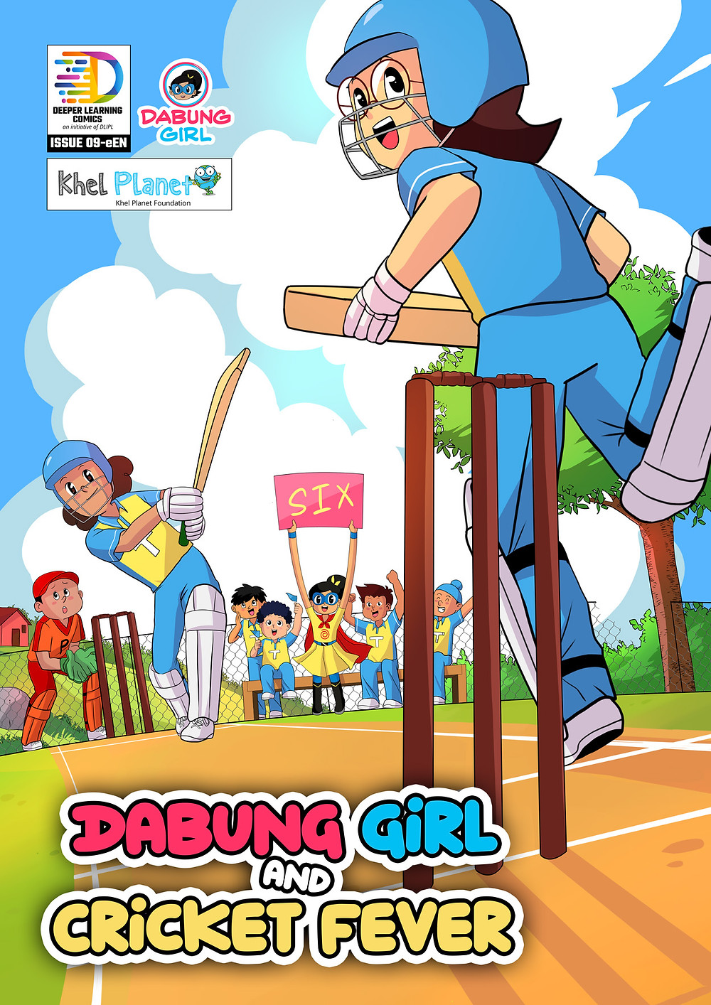 Dabung Girl and Cricket Fever