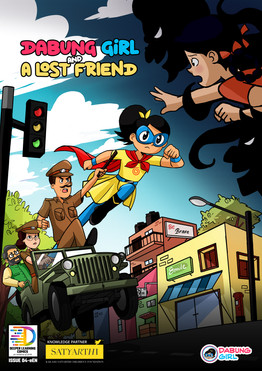 New Comic Book Alert! 'Dabung Girl and A Lost Friend' Launched!