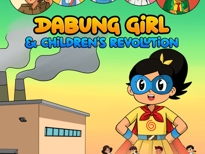 """New Comic Book Alert! """"Dabung Girl and Children's Revolution"""" Launched"""