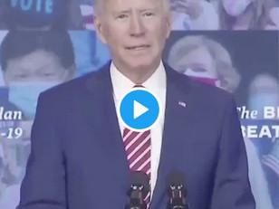 "WATCH: Biden Says He'd Mandate Mask Wearing on all ""Interstate Transportation"""