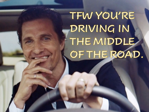 McConaughey/Brand Have Refreshing Discussion on Politics; Dare You to be Normal