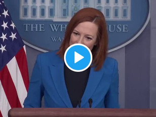 "Psaki: Biden ""Sending a Message to the World"" by Wearing Mask During World Climate Zoom Meeting"