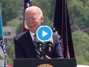 WATCH: Biden Calls Coast Guard Graduates 'Dull'