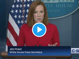 "WATCH: Psaki Says PSAs with NASCAR, Others to be Used in ""White Conservative"" Outreach Efforts"