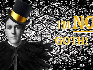 Why Are People Saying I'm Goth?