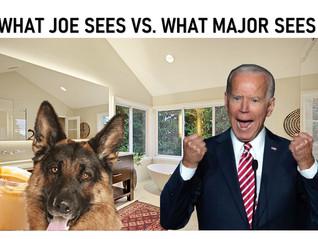 How did Joe Biden Break his Foot?
