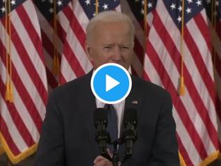"""WATCH: Biden Unveils $2 Trillion """"Infrastructure Bill""""."""