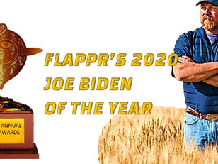 Flappr's 2020 Joe Biden of the Year Award