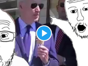 WATCH: Media Demands Answers From Biden. . . On His Ice Cream Flavor