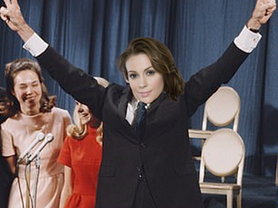 Alyssa Milano, Known Conservative, Claims Victory in Iowa GOP Primary