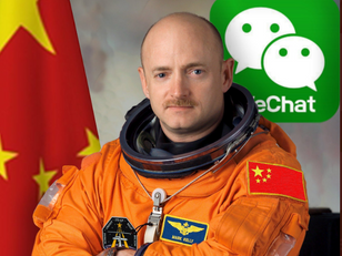 Mark Kelly MIGHT have a China Problem