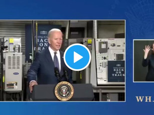 """WATCH: Biden Says """"Anybody Making Less Than 400K a Year Will Not Pay a Single Penny in Taxes"""""""