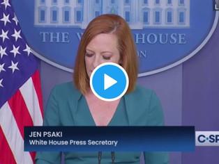 """WATCH: Psaki Says Biden Admin to Implement """"Door to Door Outreach"""" for Vaccine Push"""
