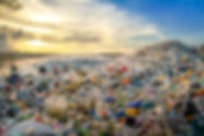 waste plastic bottles and other types of