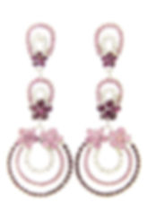 Ripple 103B Purple Earrings