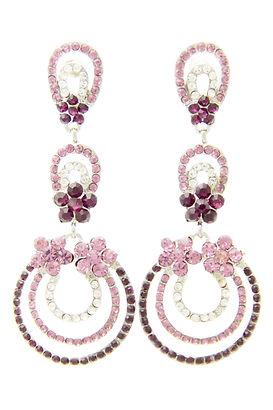 Ripple 103B Purple Earrings