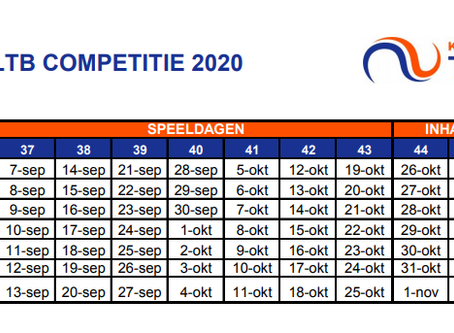 KNLTB Competitie 2020