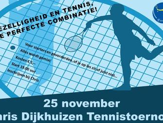 Chris Dijkhuizen Tennistoernooi