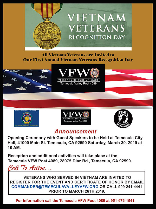 Vietnam Veterans Recognition Day flyer.j