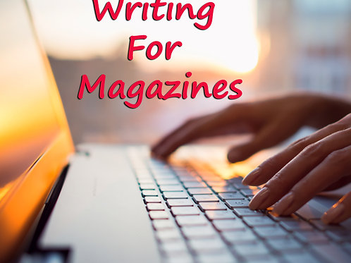 Writing For Magazines (4 for $40)