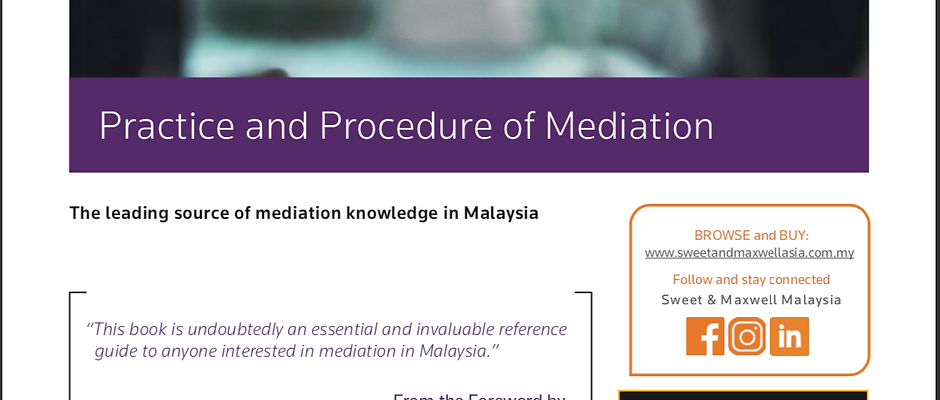 Practice and Procedure of Mediation