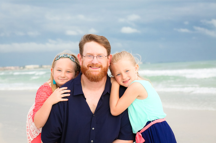 Family Beach Portraits in Sarasota, FL