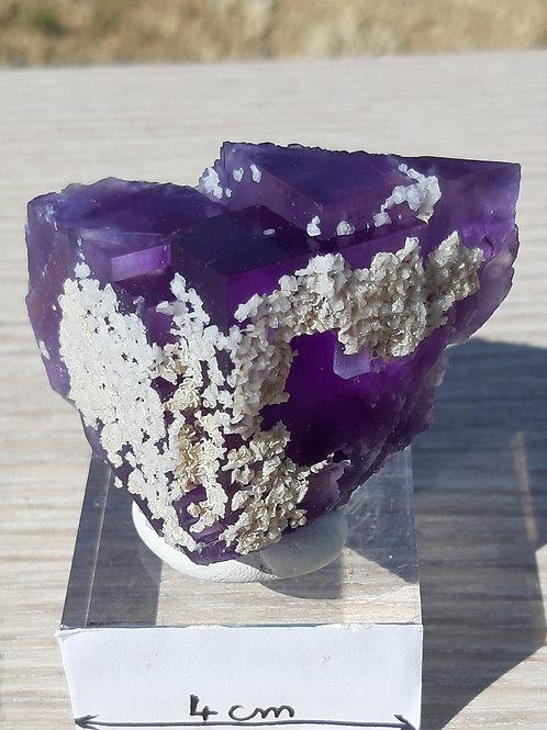 Fluorine violette + Baryte  USA