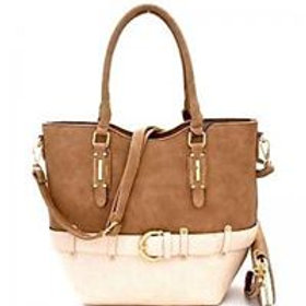 Two Tone Trendy Satchel