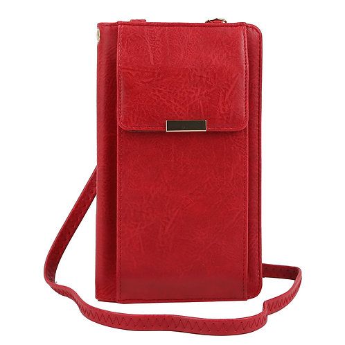 Fashion Bifold Wallet Crossbody Cell Phone Case
