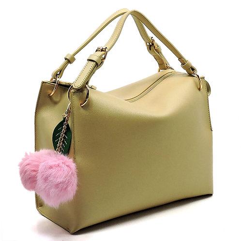 Handbag Republic Fashion Flower Pompom Satchel