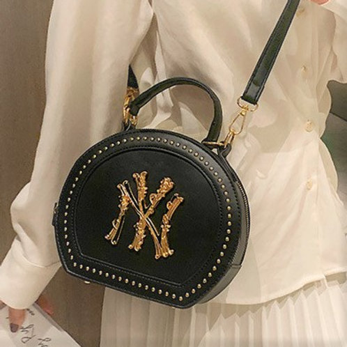 New York Round Satchel