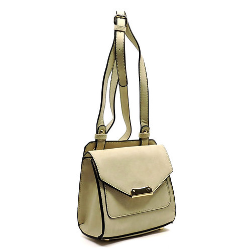 Deluxity Flap Over Crossbody Handbag