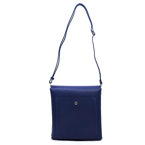 Multi-Flap Crossbody Handbag