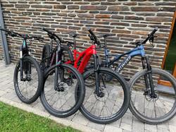 e- mountainbike rent