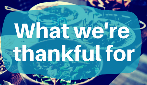 Wound Care Developments We're Thankful For