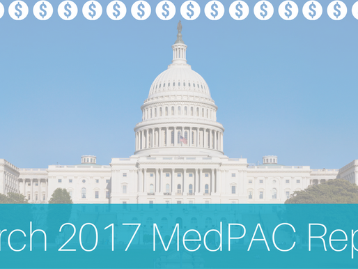 Our Thoughts on the March 2017 MedPAC Report