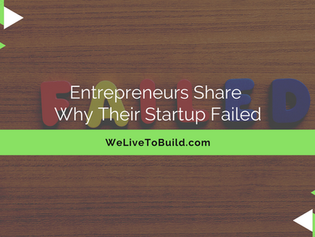 """Entrepreneurs share why their businesses fail..."" by Sean Weisbrot"