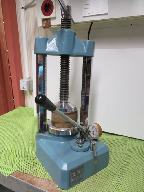hydraulische pers manfredi