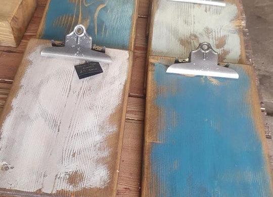 Wooden Menu / Clip boards