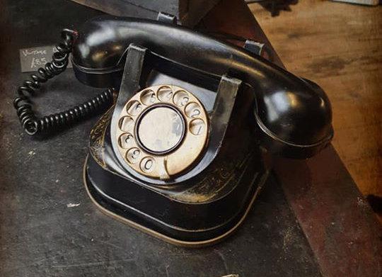 Vintage Belgian Telephone