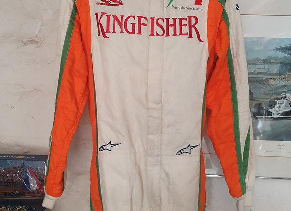 Force India F1 Team Pitcrew suit 2011