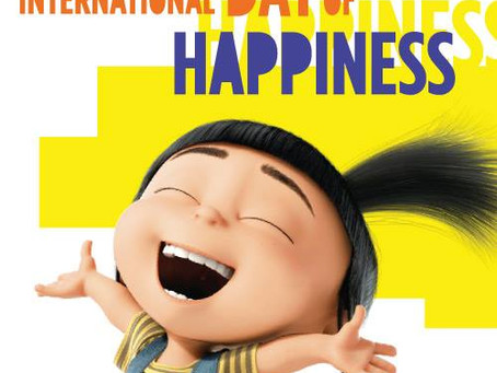 International Day of Happiness #happinessday