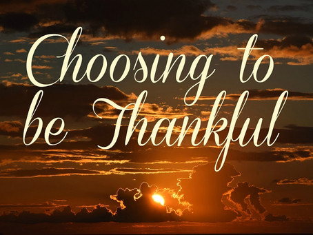 Being Truly Thankful