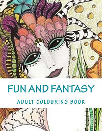 original art colouring book by Lee Pryke