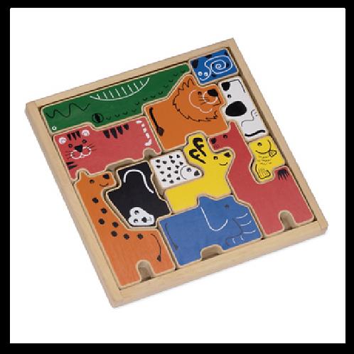 Animal Tray Puzzle
