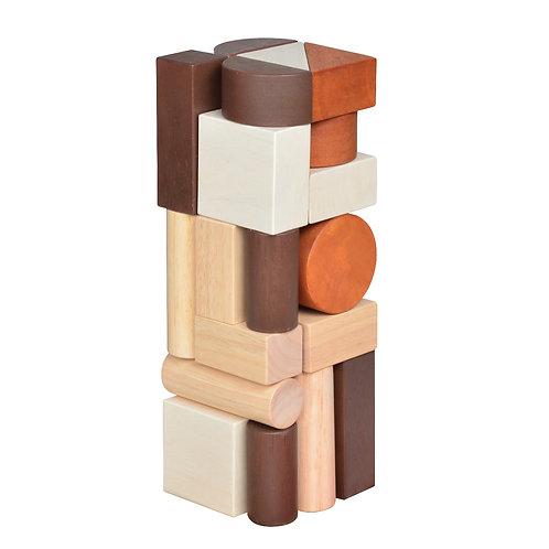 Unit Blocks Tower Natural
