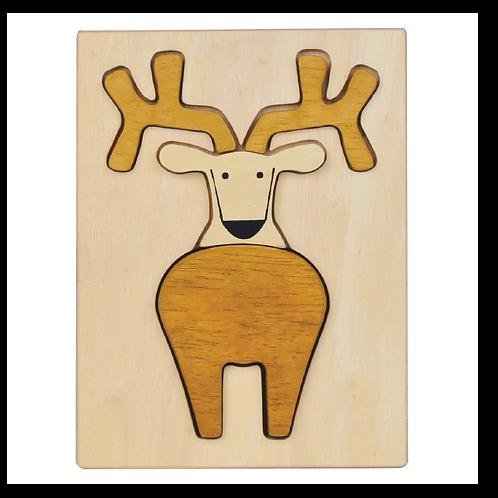 Reindeer Figure Puzzle